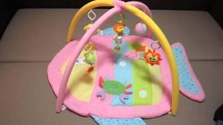Видео урок воспитателя: как играть детским развивающим ковриком для младенца.