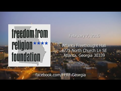 Freedom From Religion Foundation of Georgia: February 7, 2016 - Creationism vs Evolution