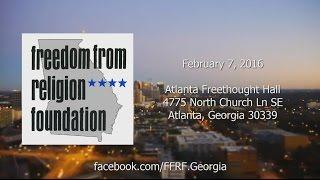 Freedom From Religion Foundation of Georgia: February 7, 2016 - Creationism vs Evolution
