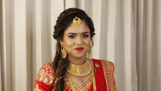 NonBengali Reception Look    Makeover By Reshmi   