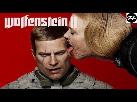 №4 Wolfenstein II The New Colossus  ночная затяжная катка  +18