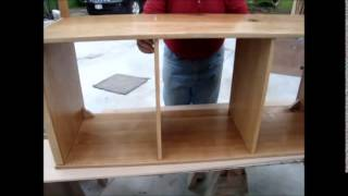 Entertainment Center Assembly