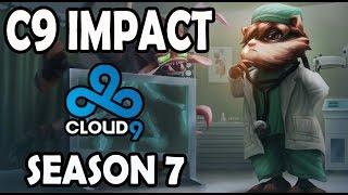 C9 Impact plays KENNEN TOP vs A Korean DIAMOND GNAR