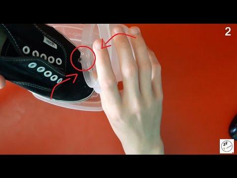4 Life Hacks muy económicos (zapatillas impermeables) JotaEfe