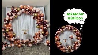 #howto Large Circle Balloon Hoop