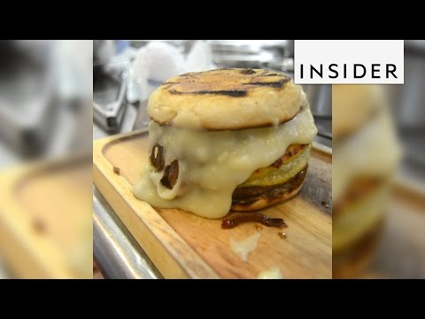 The French onion soup burger is the best of both worlds
