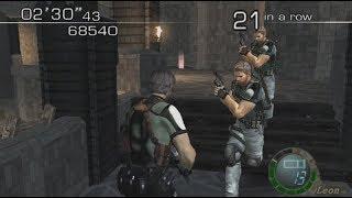 Resident Evil 4 Leon & Chris BSAA mod
