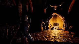 God Of War - Freya's Home Ambiance (waterfalls, fireplace, white noise, live wallpaper)