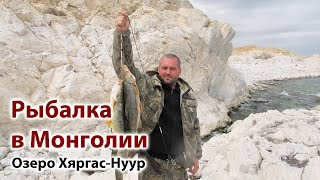Рыбалка в Монголии. Ловля османа. Хяргас-нуур.