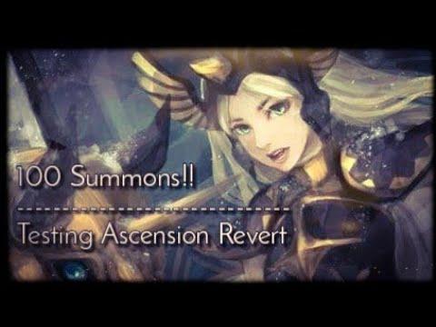 AFK Arena | Ascension Revert Test + 100 Summons