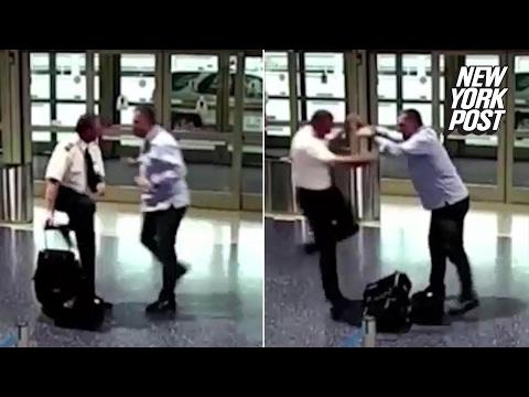 Passenger picks fight with pilot afterflight