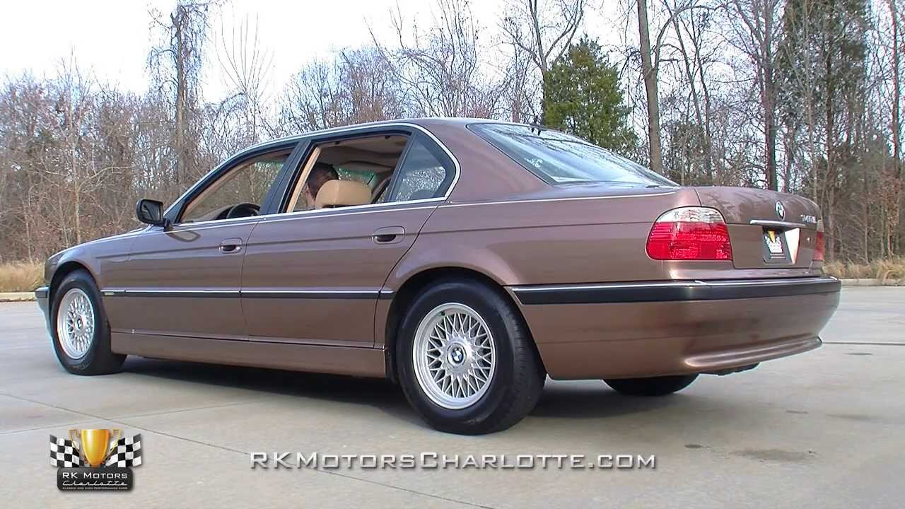 134512 2001 Bmw 740i L Youtube