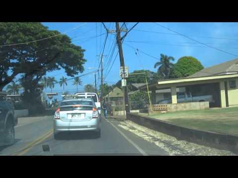 Haleiwa Drive Kamehameha Highway North Shore Oahu Hawaii
