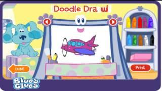 doodle  doodle blue's clues