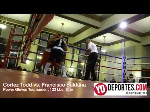 Cortez Todd vs Francisco Saldaña 125  bs Power Gloves Tournament