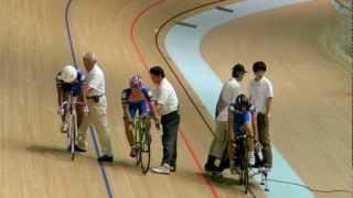 JBCF東日本トラック自転車競技 男子チーム・スプリント 決勝