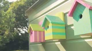 Shed Ideas: How To Make Colourful Bird Boxes