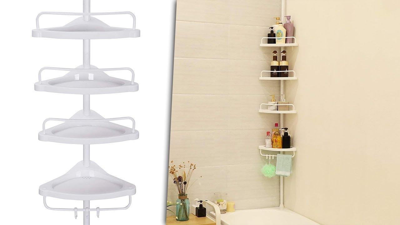 etagere d angle bain extensible bad eckregal ausziehbar