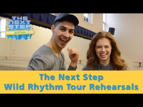 The Next Step Wild Rhythm Tour: Jordan and Trevor – Rehearsals