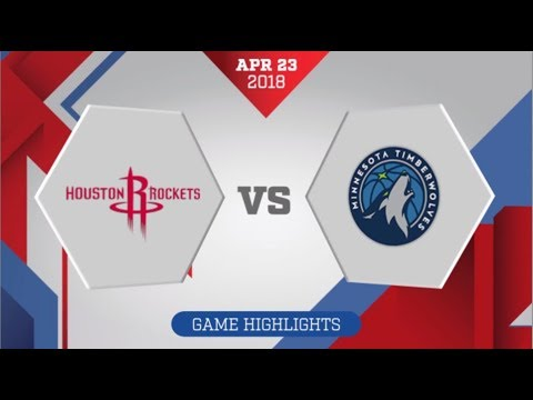 Houston Rockets vs Minnesota Timberwolves Game 4: April 23, 2018
