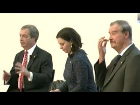 DEBATE: NATIONALISM vs GLOBALISM (Nigel Farage VS Vicente Fox)