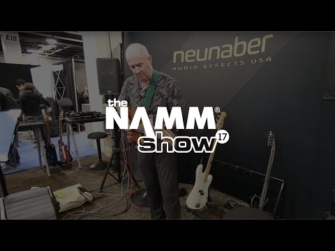 Henry Kaiser Live at NAMM 2017 Demoing  ICONOCLAST