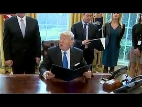 Reactions to President Donad Trump