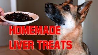 How to Make Home Made Liver Treats for Your Dog