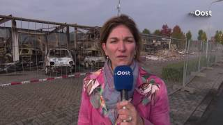 Eigenaar verwoest pand Ommen gaat uit van brandstichting