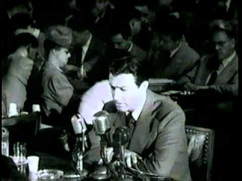 Robert Taylor HUAC Testimony Excerpt, 1947