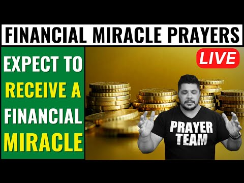 ( ONLINE PRAYER LIVE ) Financial Miracle Prayers - Expect To Receive A Financial Miracle
