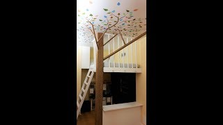Treehouse Mural: Behind the Scenes Tour