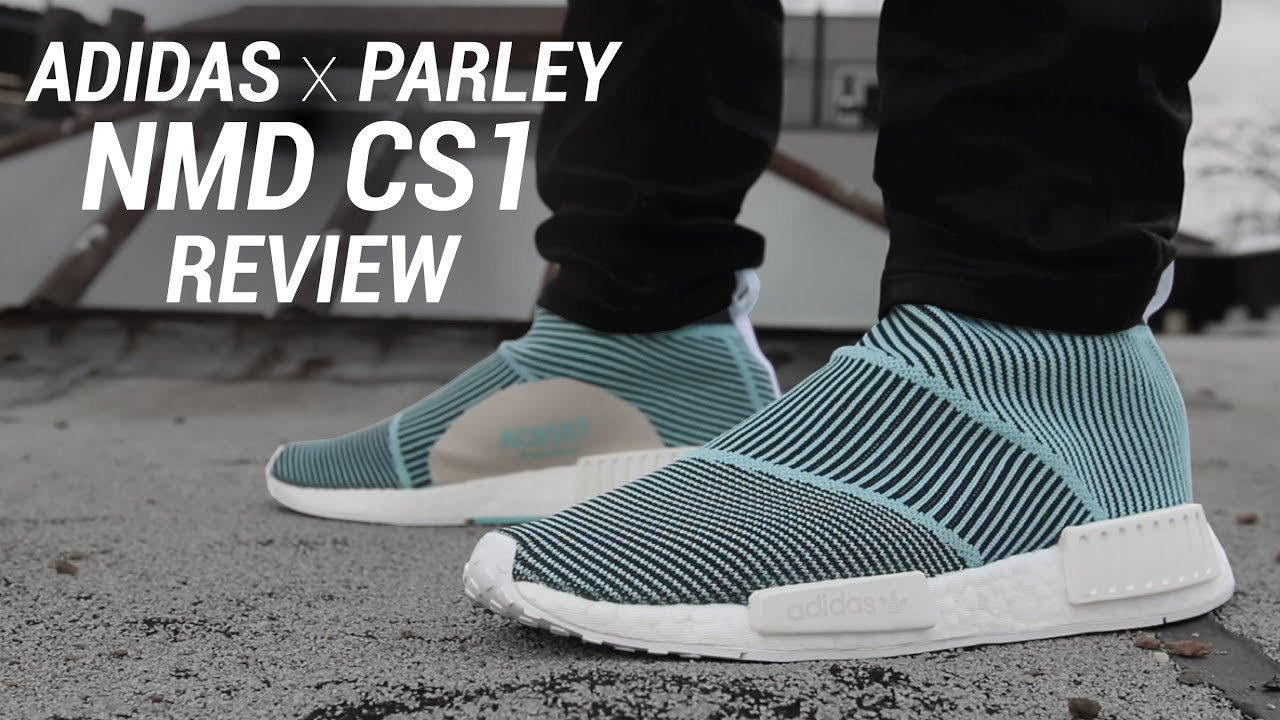 1b85d7222 ADIDAS PARLEY NMD CITY SOCK CS1 REVIEW - YouTube