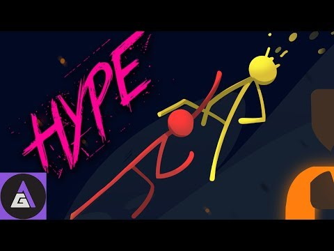 HYPE LEVELS OVER 9000 | Let's Play Stick Fight