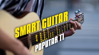 NEW SMART GUITAR 🎸 Review! Poputar T1