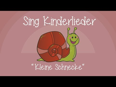 Kleine Schnecke - Kinderlieder zum Mitsingen | Sing Kinderlieder