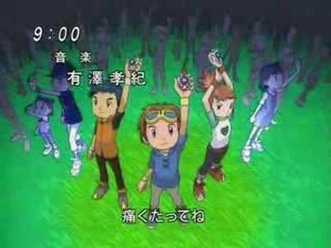 Digimon Tamers - Opening [Japanese]