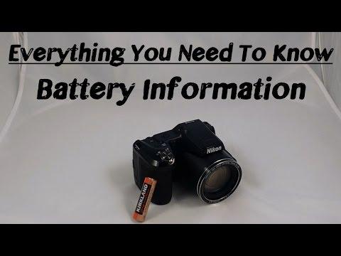 Nikon Coolpix L840 | Battery Information!