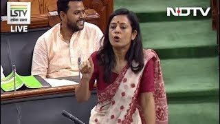 """Trinamool's Mahua Moitra in Parliament: """"Why Is Anyone Who Opposes Govt Anti-National?"""""""