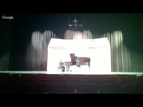 Clarinet Dances, Jennifer Reeves on clarinet