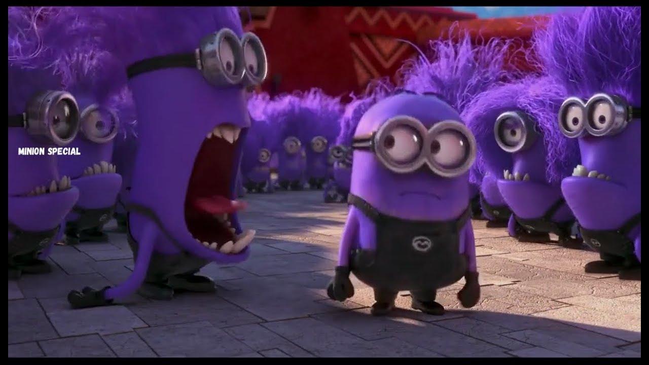 The Purple Minion Attacks scene - Despicable Me 2 ( 2013 ... | 1280 x 720 jpeg 102kB