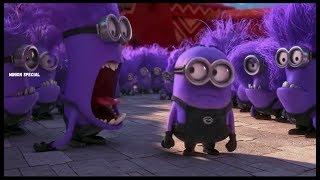 Download The Purple Minion Attacks scene - Despicable Me 2 ( 2013 ) Mp3 and Videos