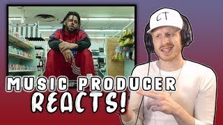 Music Producer Reacts to J Cole - MIDDLE CHILD