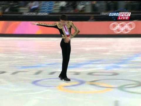 Evan LYSACEK USA 2006 Olympics SP