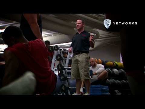 Stanford football gets in shape with coach Shannon Turley