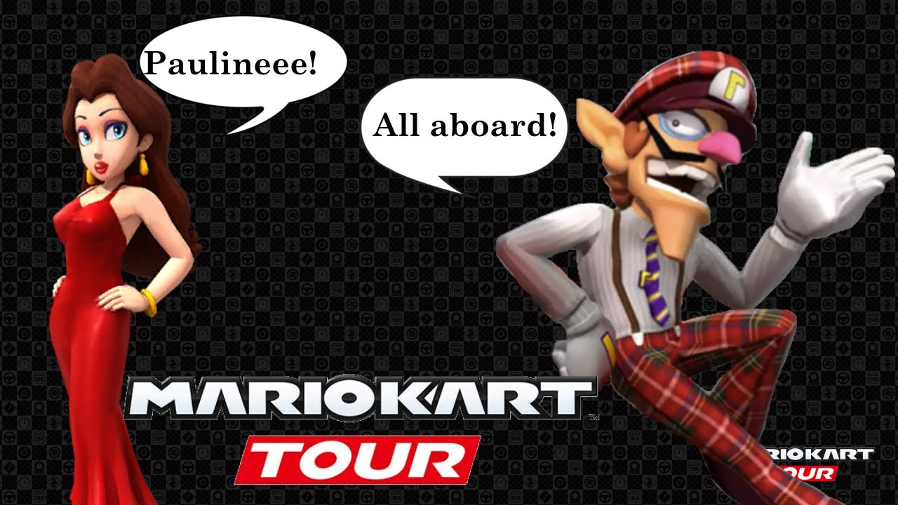 Mario Kart Tour Selectable Character Voice Clips New York Tour