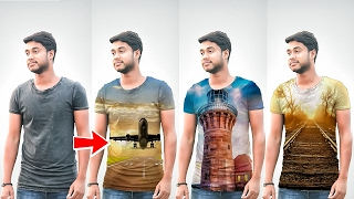 How to Put images on T - Shirts in Picsart Picsart Editing Tricks  PicsArt Editing Tutorial