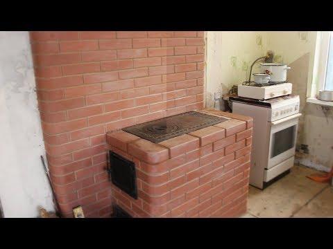 Отопительная печка в 3 колодца на хуторе Черникова.Исправляем свои ошибки