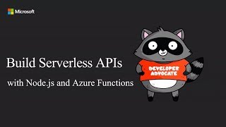 Build Nodejs APIs using Serverless on Azure - Simona Cotin