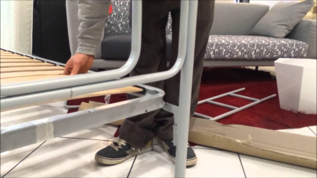 Letti A Castello In Ferro Ikea.Letto A Castello Sirio Video Montaggio Youtube